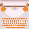 Website-Logo Schreibmaschine